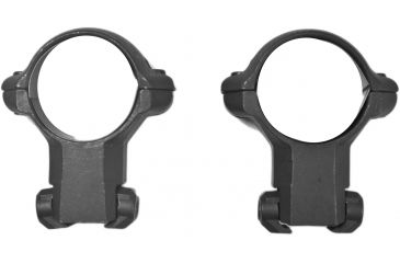 Millett Angle-Loc Weaver Style Riflescope Rings, 1in, .22 Cal 11mm Euro Grooved, High, Matte