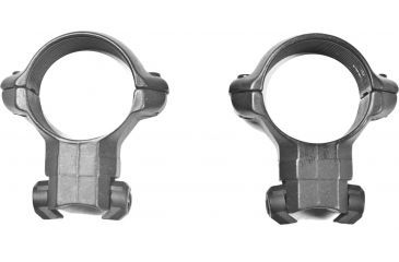 Millett Angle-Loc Weaver Style Riflescope Rings, 1in, Ruger 10/22+96/22 Factory Base, High, Smooth