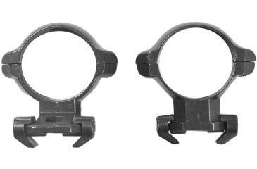 Millett Angle-Loc Weaver Style Riflescope Rings, 30mm, 1x Extended/1x Standard, Medium, Smooth