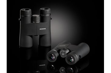 Minox 10x42 Classic Roof Prism Binocular, Black, Made in Germany 62011
