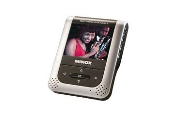 Minox DMP-4 Media Player with Built-in 2 GB Flash Memory, MP3/Movie Player& JPEG Viewer w/ 2.5'' LCD Display 61606