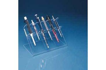 Mitchell Plastics Multipurpose Pipettor Stands, Mitchell Plastics PH-3000W 3-Place Pipettor Stands