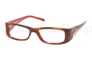 Miu Miu Eyeglass MU11EV 7O81O1-5115 - Dark Havana-brown