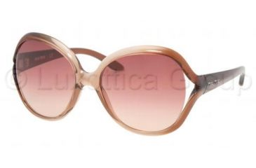 Miu Miu MU 17IS Sunglasses Styles Antique Shadow Frame / Red Gradient Lenses, 7ZY2F1-5517, Miu Miu MU 17IS Sunglasses Styles Antique Shadow Frame / Red Gradient Lenses