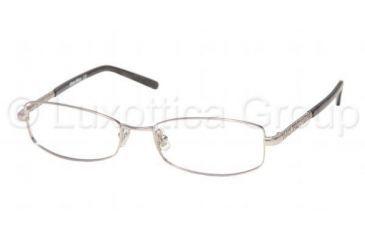 Miu Miu MU 59EV Eyeglasses Styles -  Matte Silver Frame w/Non-Rx 52 mm Diameter Lenses, 1AP1O1-5216