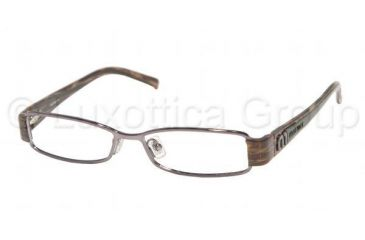 bb79a26ee6de Miu Miu MU 60EV Eyeglasses Styles - Gunmetal Frame w Non-Rx 49 mm