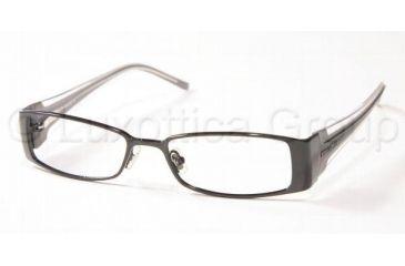 d7e81f0f276 Miu Miu MU 68DV Eyeglasses Styles - Gloss Black Frame w Non-Rx 49