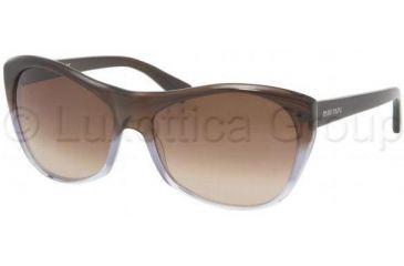 Miu Miu MU02LS Sunglasses EF41Z1-5816 - Brown/Azure/Crystal Brown Gradient