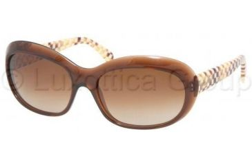 Miu Miu MU03LS Sunglasses ZWU6S1-5917 - Brown Brown Gradient
