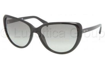 Miu Miu MU16LS Sunglasses 1AB3M1-6016 - Black