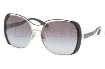 Miu Miu MU51MS Sunglasses 1BC3M1-5916 - Silver Gray Gradient