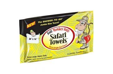 Monkey Butt Safari Towels 3 Pk 02203