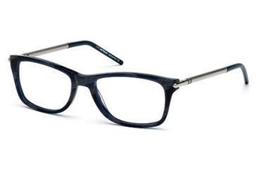 Mont Blanc MB0439 Eyeglass Frames - Blue Frame Color