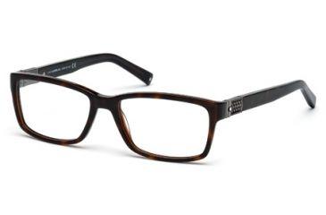 Mont Blanc MB0443 Eyeglass Frames - Havana Frame Color