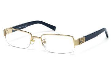 Mont Blanc MB0444 Eyeglass Frames - Gold Frame Color