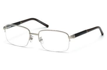 Mont Blanc MB0447 Eyeglass Frames - Shiny Palladium Frame Color