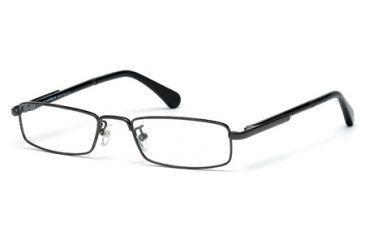 Mont Blanc MB0448 Eyeglass Frames - Shiny Gun Metal Frame Color
