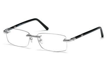 470c816856 Mont Blanc MB0476 Eyeglass Frames - Shiny Palladium Frame Color