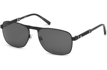 4064d3124f Mont Blanc MB655S Sunglasses - Matte Black Frame Color
