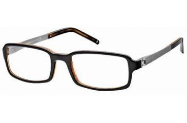 Montblanc MB0307 Eyeglass Frames - Black Frame Color