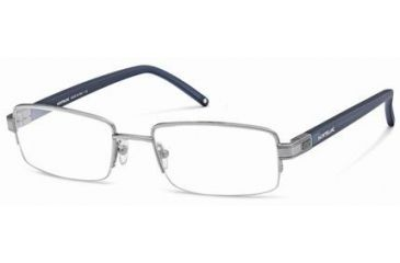 Montblanc MB0342 Eyeglass Frames - Matte Light Ruthenium Frame Color