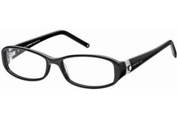 Montblanc MB0343 Eyeglass Frames - Shiny Black Frame Color
