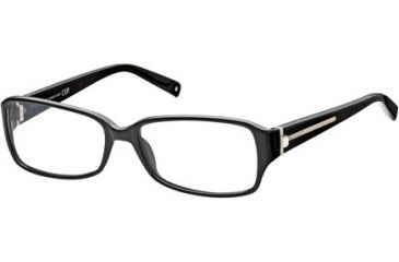 Montblanc MB0380 Eyeglass Frames - Shiny Black Frame Color