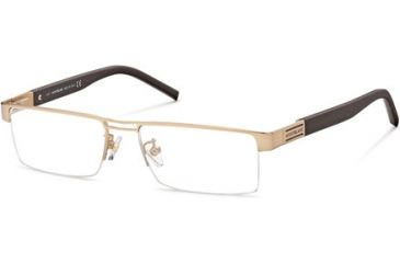 Montblanc MB0381 Progressive Prescription Eyeglasses - Frame 034, Size 54 MB038154034