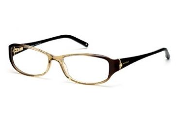 Montblanc MB0393 Eyeglass Frames - Light Brown Frame Color