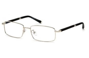 Montblanc MB0396 Eyeglass Frames - Shiny Palladium Frame Color