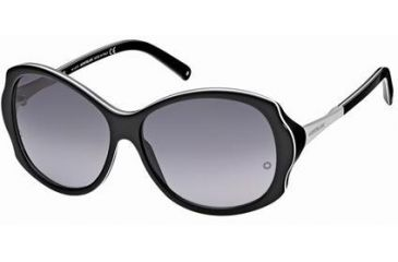 Montblanc MB314S Sunglasses - Black Frame Color