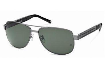 Mont Blanc MB364S Sunglasses - Matte Dark Ruthenium Frame Color