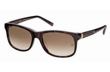 Montblanc MB365S Sunglasses - Dark Havana Frame Color