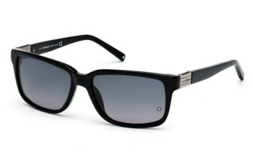 Mont Blanc MB405S Sunglasses - Shiny Black Frame Color