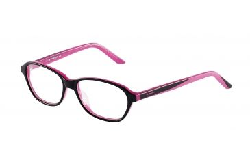 Morgan 201056 Single Vision Prescription Eyeglasses - Anthracite Frame and Clear Lens 201056-6152SV