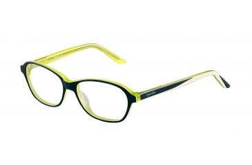 Morgan 201056 Single Vision Prescription Eyeglasses - Blue Frame and Clear Lens 201056-8068SV