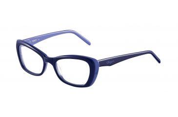 Morgan 201062 Bifocal Prescription Eyeglasses - Blue Frame and Clear Lens 201062-6422BI