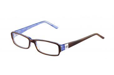 Morgan No. 201064 Eyeglasses - Brown Frame and Clear Lens 201064-6506