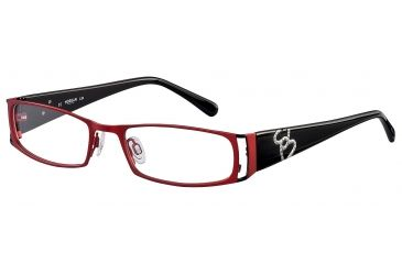 Morgan No. 203072 Eyeglasses - Red Frame and Clear Lens 203072-210
