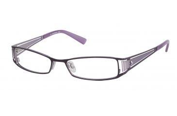 Morgan 203075 Progressive Prescription Eyeglasses - Violet Frame and Clear Lens 203075-263PR