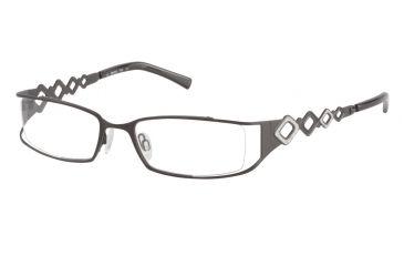 Morgan 203087 Progressive Prescription Eyeglasses - Black Frame and Clear Lens 203087-323PR