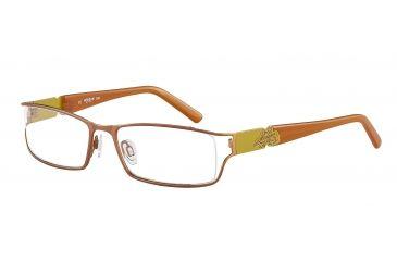Morgan 203122 Progressive Prescription Eyeglasses - Copper Frame and Clear Lens 203122-426PR