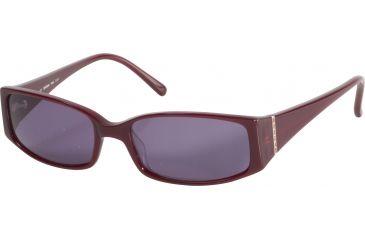 Morgan 207114 Single Vision Prescription Sunglasses - Red Frame and Grey Lens 207114-8075SV