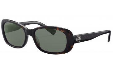 Morgan No. 207133 Sunglasses - Brown Frame and Grey Green Lens 207133-8940