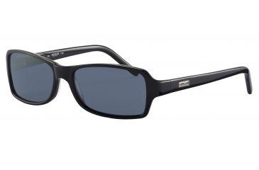 Morgan 207134 Bifocal Prescription Sunglasses - Black Frame and Grey Lens 207134-8840BI