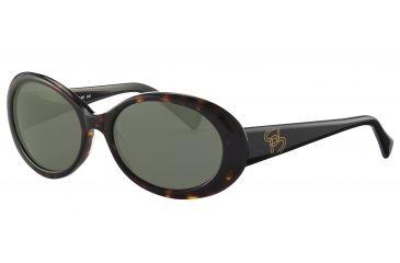 Morgan 207136 Bifocal Prescription Sunglasses - Brown Frame and Grey Green Lens 207136-8940BI