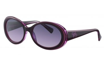 Morgan 207136 Bifocal Prescription Sunglasses - Violet Frame and Violet Gradient Lens 207136-6255BI