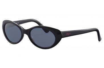 Morgan No. 207137 Sunglasses - Black Frame and Grey Lens 207137-8840