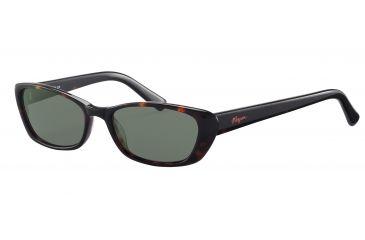 Morgan 207138 Single Vision Prescription Sunglasses - Brown Frame and Grey Green Lens 207138-8940SV