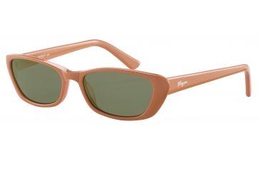 Morgan 207138 Single Vision Prescription Sunglasses - Orange Frame and Brown Lens 207138-6375SV